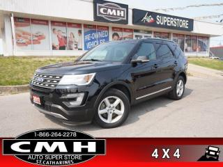 Used 2017 Ford Explorer XLT  NAV CAM BLIND SPOT LEATH HTD-SEATS ROOF for sale in St. Catharines, ON
