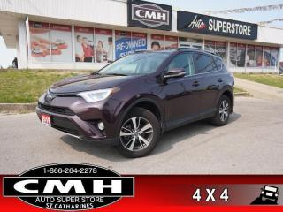 Used 2018 Toyota RAV4 Sport  AWD CAM BLIND SPOT COL-WARN HTD-S/W for sale in St. Catharines, ON