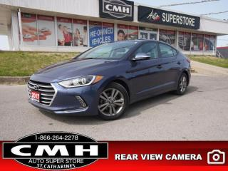 Used 2017 Hyundai Elantra GL  CAM HTS-SEATS HTD-S/W BLIND SPOT BT for sale in St. Catharines, ON