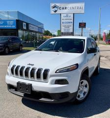 Used 2016 Jeep Cherokee SPORT | 4WD | for sale in Barrie, ON