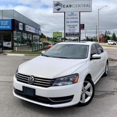 Used 2015 Volkswagen Passat COMFORTLINE   BACKUP CAM   SUNROOF   BLUETOOTH   for sale in Barrie, ON