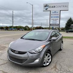 Used 2013 Hyundai Elantra Limited | NAVI | BACKUP CAM | HEATED SEATS | for sale in Barrie, ON