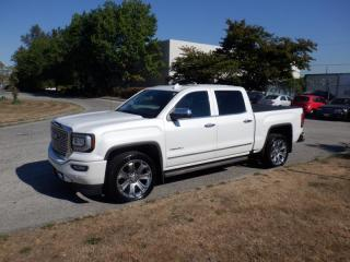 Used 2017 GMC Sierra 1500 Denali Crew Cab Short Box 4WD for sale in Burnaby, BC