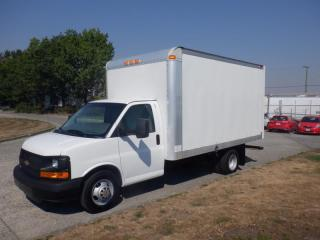 Used 2014 Chevrolet Express G3500 14 Foot Cube Van With Ramp for sale in Burnaby, BC