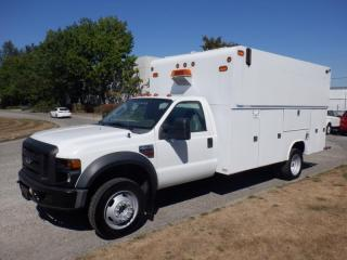Used 2008 Ford F-450 SD Service Truck Dually Diesel for sale in Burnaby, BC
