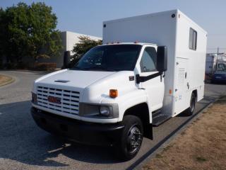 Used 2006 GMC 4500 C 12 Foot Mobile Workshop Cube  Van for sale in Burnaby, BC