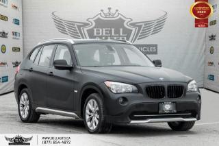 Used 2012 BMW X1 28i, AWD, NAVI, PANO ROOF, ALLOY, BLUETOOTH for sale in Toronto, ON