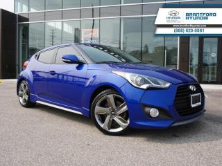 Used 2014 Hyundai Veloster TURBO | NAV| HTD SEATS | BACK UP CAM  - $82 B/W for sale in Brantford, ON