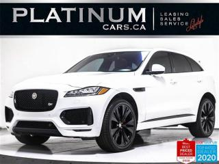 Used 2018 Jaguar F-PACE S, 380HP, 22 INCH, NAV, PANO, CAM, HEATE for sale in Toronto, ON