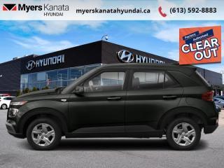 New 2021 Hyundai Venue Essential  - $125 B/W for sale in Kanata, ON