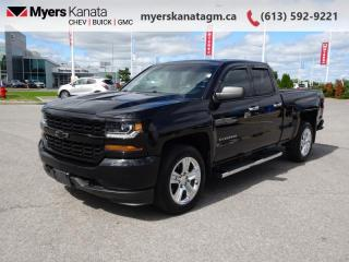 Used 2017 Chevrolet Silverado 1500 Custom  - A/C -  Bluetooth for sale in Kanata, ON