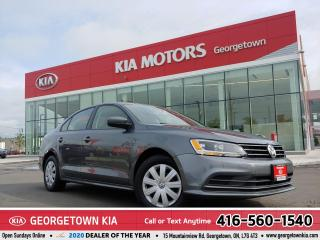 Used 2017 Volkswagen Jetta Sedan Trendline+ | BLUETOOTH | HEATED SEATS | B/UP CAM | for sale in Georgetown, ON