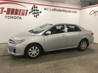 Used 2013 Toyota Corolla 4DR SDN AUTO CE for sale in St-Hubert, QC