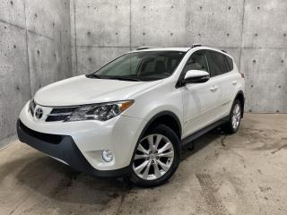 Used 2015 Toyota RAV4 LIMITED AWD CUIR TOIT 176HP for sale in St-Nicolas, QC