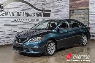 Used 2018 Nissan Sentra SV+CAM/RECUL+SIEG/CHAUFF for sale in Laval, QC