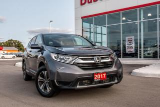 Used 2017 Honda CR-V LX 2WD for sale in Woodstock, ON