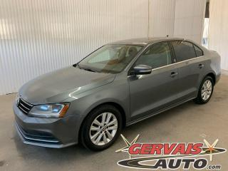 Used 2017 Volkswagen Jetta Wolfsburg Edition Toit Ouvrant Caméra Mags for sale in Trois-Rivières, QC