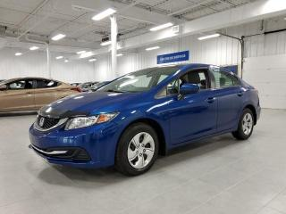 Used 2015 Honda Civic LX - CAMERA + BLUETOOTH + SIEGES CHAUFFANTS !!! for sale in St-Eustache, QC