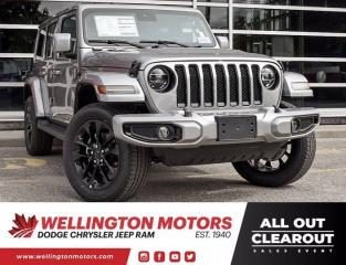 New 2021 Jeep Wrangler High Altitude for sale in Guelph, ON