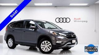 Used 2016 Honda CR-V EX w/Sunroof & Remote Starter *Local Trade* for sale in Winnipeg, MB