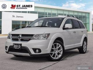 Used 2013 Dodge Journey R/T, Push to Start, Heated Seats, Remote Start for sale in Winnipeg, MB