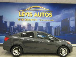 Used 2012 Kia Rio LX MANUEL 6 VITESSES AIR CLIMATISE BANC for sale in Lévis, QC