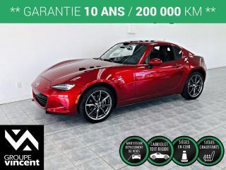 Used 2019 Mazda Miata MX-5 GT CUIR GPS ** GARANTIE 10 ANS ** Découvrez l'âme du mouvement Mazda! for sale in Shawinigan, QC