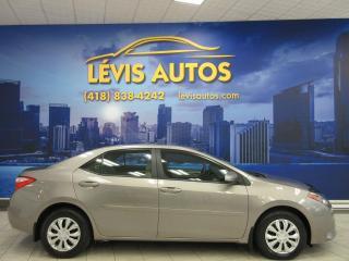 Used 2016 Toyota Corolla LE AUTOMATIQUE 26000 KM CAMERA DE RECUL for sale in Lévis, QC