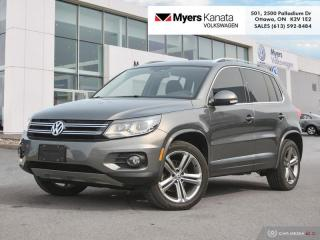 Used 2017 Volkswagen Tiguan Highline  - Navigation for sale in Kanata, ON