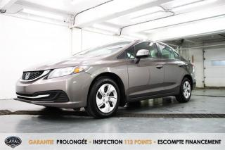 Used 2013 Honda Civic Auto LX + Bas Kilo + Banc Chauffant + A/C for sale in Québec, QC