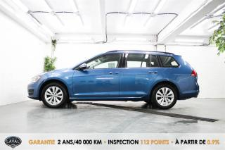 Used 2017 Volkswagen Golf Sportwagen Reservé 1.8 TSI 4MOTION + Caméra + Bluetooth for sale in Québec, QC
