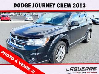 Used 2013 Dodge Journey Crew for sale in Victoriaville, QC