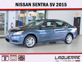 Used 2015 Nissan Sentra SV for sale in Victoriaville, QC