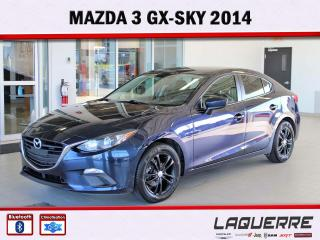 Used 2014 Mazda MAZDA3 GX-SKY for sale in Victoriaville, QC
