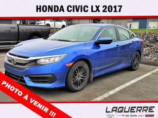 Used 2017 Honda Civic LX for sale in Victoriaville, QC