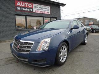Used 2009 Cadillac CTS LUXE for sale in St-Hubert, QC