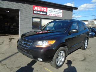 Used 2009 Hyundai Santa Fe Limited AWD for sale in St-Hubert, QC