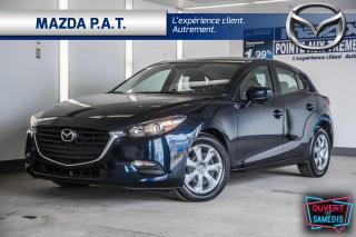 Used 2017 Mazda MAZDA3 AUTOMATIQUE,CAMÉRA DE RECUL,BLUETOOTH,A/C,BAS KM for sale in Montréal, QC
