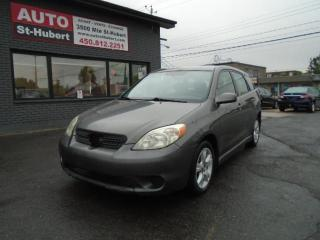 Used 2005 Toyota Matrix XR for sale in St-Hubert, QC