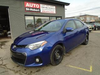 Used 2014 Toyota Corolla S for sale in St-Hubert, QC