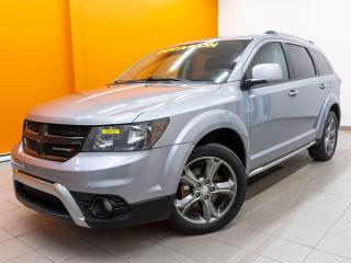 Used 2017 Dodge Journey CROSSROAD AWD 7 PLACES DVD TOIT NAVIGATION *CUIR* for sale in Mirabel, QC
