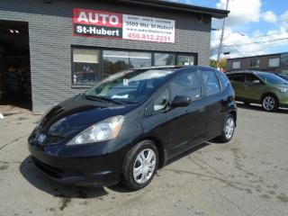 Used 2010 Honda Fit DX-A + A/C + BAS KILO ! for sale in St-Hubert, QC