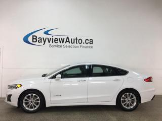 Used 2019 Ford Fusion Hybrid SEL - HTD LEATHER! NAV! SUNROOF! ADAPTIVE CRUISE! + MORE! for sale in Belleville, ON