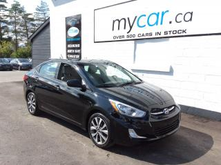 Used 2017 Hyundai Accent SUNROOF, HEATED SEATS, BACKUP CAM!! for sale in Richmond, ON