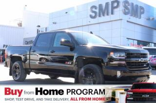 Used 2017 Chevrolet Silverado 1500 LTZ - Midnight Edition, Z71, Sunroof, Heated/Vented Leather for sale in Saskatoon, SK