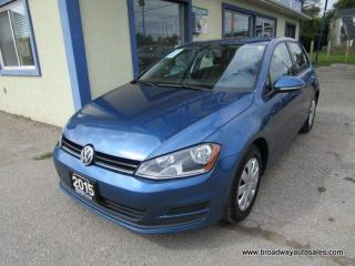 Used 2015 Volkswagen Golf WELL EQUIPPED TSI - HATCH MODEL 5 PASSENGER 1.8L - DOHC.. HEATED SEATS.. TOUCH SCREEN DISPLAY.. KEYLESS ENTRY.. for sale in Bradford, ON