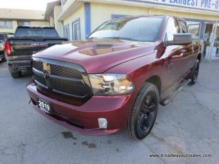 Used 2019 Dodge Ram 1500 LIKE NEW CLASSIC-EDITION 6 PASSENGER 3.6L - V6.. 4X4.. QUAD-CAB.. SHORTY.. BACK-UP CAMERA.. TOW SUPPORT.. BLUETOOTH SYSTEM.. KEYLESS ENTRY.. for sale in Bradford, ON