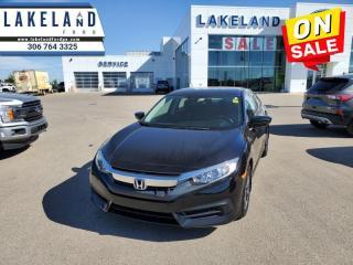 Used 2018 Honda Civic Sedan LX CVT  - $146 B/W for sale in Prince Albert, SK
