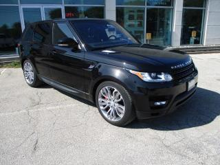 Used 2016 Land Rover Range Rover Sport V8 SC Dynamic for sale in Oakville, ON