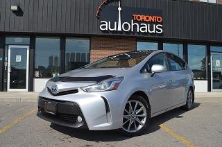 Used 2017 Toyota Prius V NAVI/LEATHER/SKY VIEW/LDW/ACC for sale in Concord, ON